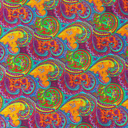 African Print Fabric 100% Cotton 44#x27;#x27; wide sold by the yard 90200 4 $5.99