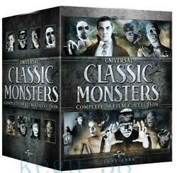 Universal Classic Monsters Complete 30-Film Collection 21 DVD Box Set Sealed New