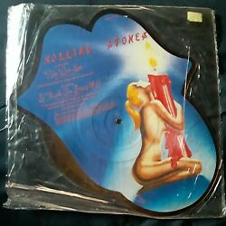 Vtg Rare(1984) Rolling Stones Picture DiscShe was hot I think im going Mad new