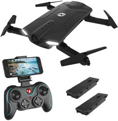 Holy Stone HS160 Shadow FPV RC Drone with 720P HD Wi-Fi Camera Live Video Feed $87.96