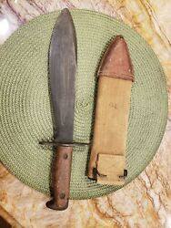 WW1 1917 U S ARMY ST LOUIS PLUM BOLO VINTAGE  with 1918 Brauer Bros. Canvas She