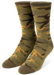 Neff Daily Jacquard Nu Camo Fits 6 1 2 to Size 12 Socks $4.94