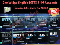 Cambridge Practice Tests IELTS (5 – 14) Academic Student Book Answers+Audio Link