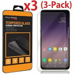 3 Pack Premium Real Tempered Glass Screen Protector for Samsung Galaxy S10e $6.45