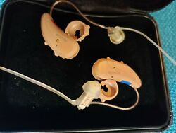 Bluetooth-compatible Miracle Ear Genius 2.0 hearing aids w warranty a $9K value!