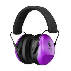 Browning 126396 Purple Buckmark II Shooting Hearing Protection Ear Muffs Adult $19.99