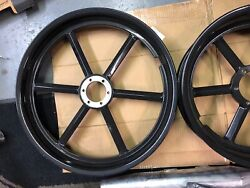 Motorcycle Wheels Custom Design by Bourget's Front & Rear Set