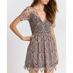 Free People She's So Lovely Lace Dress Size 6