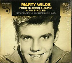 Marty Wilde~Four Classic Albums Plus Singles~BRAND NEW 4 CD SET~Fast Free Ship