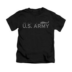 U.S. Army HELICOPTER Licensed Toddler amp; Boy Graphic Tee Shirt 4 5 6 7 $21.95
