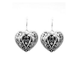 Brighton Beach FILIGREE HEART EARRING
