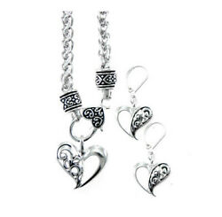 Brighton Beach FILIGREE HEART CHAIN NECKLACE SET
