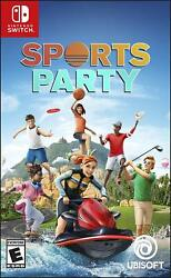 Sports Party for Nintendo Switch BRAND NEW $26.55