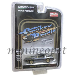 GREENLIGHT 51223 SMOKEY & BANDIT 1977 PONTIAC TRANS AM TA 164 BLACK CHROME