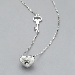 Real 925 Sterling Silver String Love Pendant Necklace Chain SOLID SILVER Jewelry $14.99