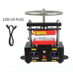 2000+PSI Professional Rosin Press Hand Crank Duel Heated Plates 2.4
