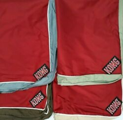 KONG CHEW RESISTANT DOG PET BED COVER 40″X30″ BROWN GREY GREEN TAN RED $25.99