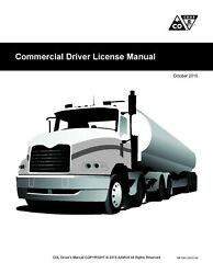 Commercial Driver's License Manual CDL Training Colorado CDL Handbook $7.01