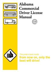 Alabama CDL Study Guide Commercial Driver's License Training Manual CDL $7.01