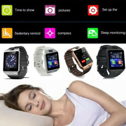 2019 Hot Smart Bluetooth Watch Wrist Phone  For Samsung iPhone HTC Android IOS