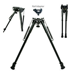 13quot; to 23quot; Long Adjustable Spring Return Sniper Hunting Rifle Bipod Adapter $33.85