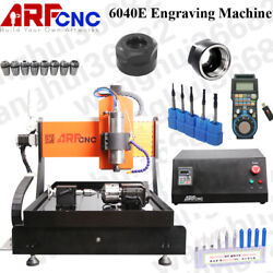 6040E 2.2KW 4Axis CNC Engraving Machine with Water Cooling System