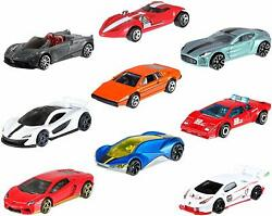Hot Wheels Mini 10-Pack Lot Set #2 Vehicles EXOTIC Racing Edition Car Collection