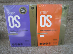 Pruvit KETO OS 3.0 Chocolate Swirl Charged AND Orange Dream Charged 30 Packets