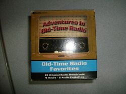 Old Time Radio Favorites Cassette Set - Amos 'n' Andy Midnight Eddie Cantor Etc