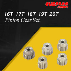 SURPASS HOBBY 48DP 3.175MM 16T 17T 18T 19T 20T Pinion Gear Set for 1 10 RC Motor $11.04