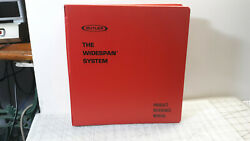 Vintage BUTLER The Widespan (Structural) System Product Reference Manual Binder