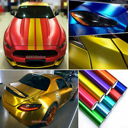 Brushed Steel Metal Satin Chrome Wire Drawing Car Vinyl Wrap Sticker Stretch US