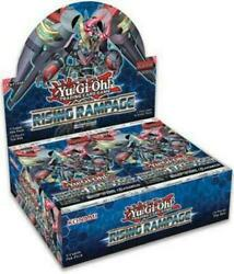 Yugioh Rising Rampage 1st Edition Booster Box Factory Sealed English IN STOCK
