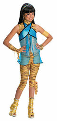 NEW MONSTER HIGH CLEO DE NILE COSTUME DAUGHTER OF THE MUMMY  CHILD SIZE SMALL