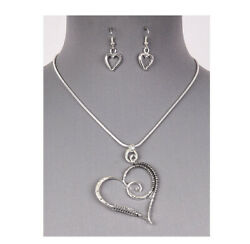 Brighton Beach HEART COILED WIRE NECKLACE SET