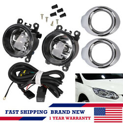 2x FOG LIGHT KIT DRIVING LAMPS  w Harness FOR Mitsubishi Outlander  Sport ASX $37.99