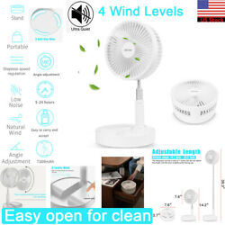 USB Rechargeable Foldable Portable Fan Air Cooler Cooling Mini Desk Floor Fan US $46.99