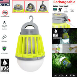Mini Mosquito Insect Killer USB Electric LED Light Fly Bug Zapper Trap Pest Lamp $20.89