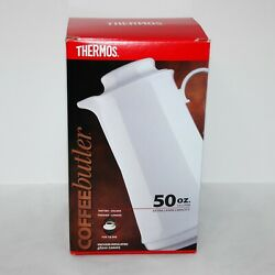 Thermos Model 5000 50oz Glass Lined Coffee Butler Carafe - Folgers Branded - New