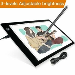 A4 LED Adjustable Stencil Board Light Box Artist Tracing Drawing Copy Plate Gift