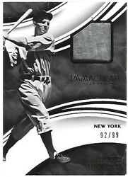 2016 Immaculate Collection Immaculate Swatches #12 Tommy Henrich 9299