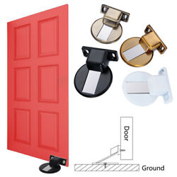 Anti-Collision Door Stopper Magnetic Catch Floor Mounted Invisible Home Garden $3.70