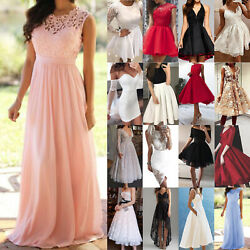 Women Long Maxi Dress Cocktail Evening Party Prom Ball Wedding Homecoming Dress