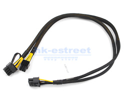 50cm GPU cable 10pin to 68pin Power Adapter Cable for HP DL360 G8 and GPU $16.94