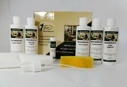New Guardian 1 Plan Furniture Care Kit Leather Wood Fabric Micro Fiber Cleaner