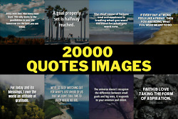 I Will Send You 20000 Inspirational Motivational Image Quotes for social media $5.99