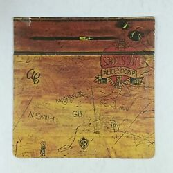 ALICE COOPER School's Out BS2623 LP Vinyl VG+ Flap Cover VG+ WB Green Label 1972