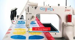 Q'nique 15R Quilting Machine & Q-Zone Hoop Frame