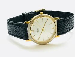 Vintage Sharp Men's TwoTone Quartz Wrist Watch NEW OLD STOCK FROM THE 80s(10715M