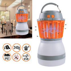 Outdoor Mosquito Killer Lamp Camping Light LED Trap Lamp Fly Insect Zapper $17.44